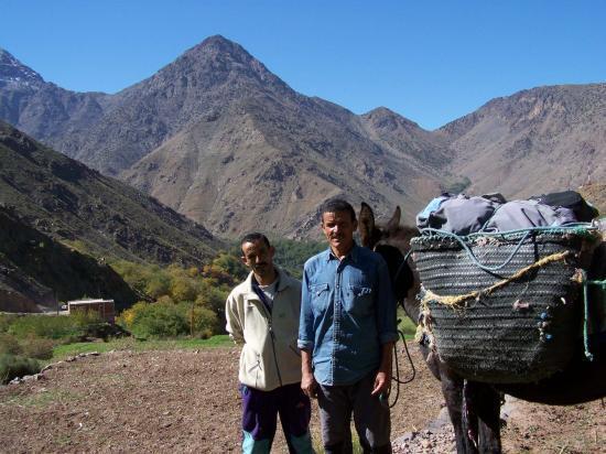 Mohamed et Hussein à Ait Souka