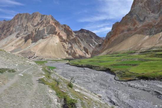 Kanji, porte d'entrée de la Grande Traversée du Zanskar