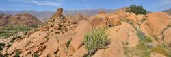 Le chaos de rochers d'Aguerd Oudad