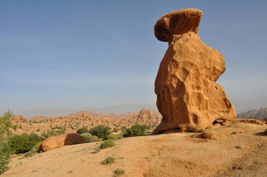 Le chaos rocheux d'Aguerd Oudad