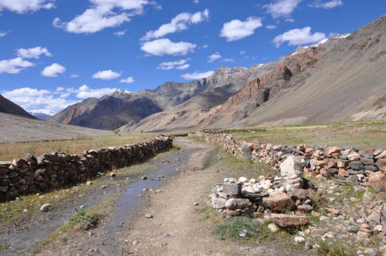 La vallée de la Kargyak Chu du côté de Table