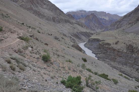 Le fleuve Zanskar