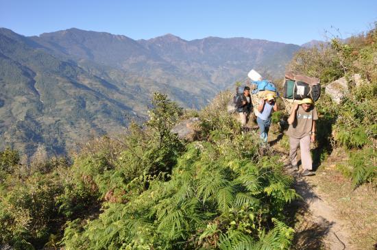 Sur le chemin de Chilangka