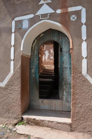 Porche d'entrée de maison à Imsker