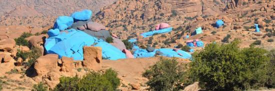 Les Rochers peints d'Aguerd Oudad