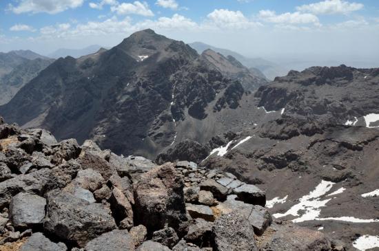 Panorama depuis le sommet de l'Afella