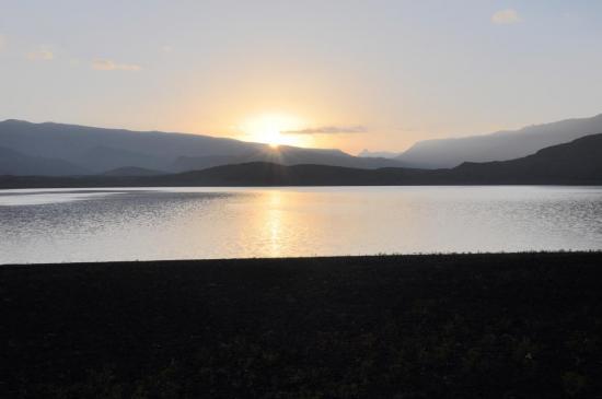 Lever de soleil sur le lac Isli