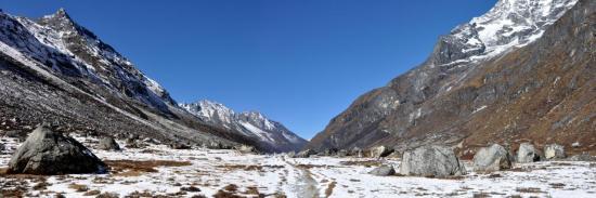 La haute vallée du Rolwaling