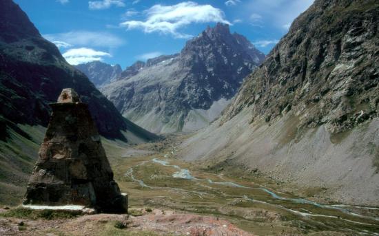 Valfourche depuis l'alpe de Villar d'Arène