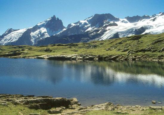 Le lac Noir (plateau d'Emparis)