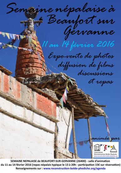 Semaine népalaise à Beaufort-sur-Gervanne