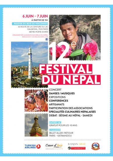 Affiche festival du nepal 2015