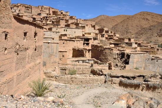 Le village d'Aguerd Imelaln (Gorges Ait Mansour)