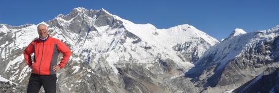 Franchissement de l'Amphu Lapsa (Khumbu - Népal)