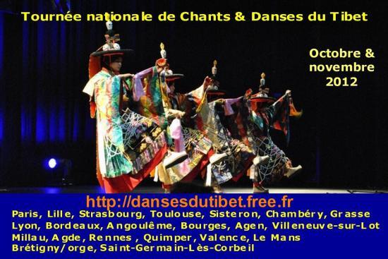 Danses du Tibet