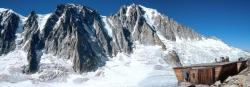 Sur le glacier d'Argentiere