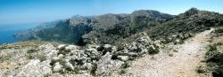 Le sentier de l'Arxiduc entre Valldemosa et Deia