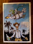 Ben ça alors, je commence à voir un dodo et un margouillat voler, il va falloir que j'arrête le rhum...