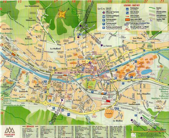 Plan de Chamonix