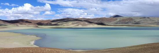 Le lac du Chilling tsho (Rupshu - Ladakh)