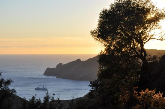 Coucher de soleil sur Girolata