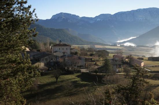 Au petit matin, Marignac-en-Diois