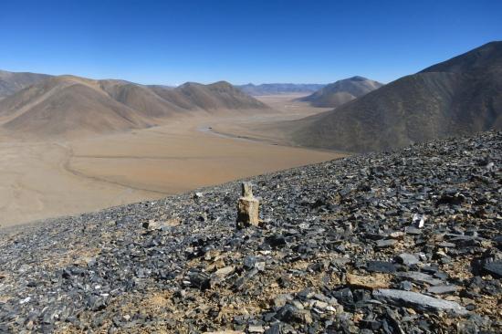 Pendant la montée sur la Kalo danda on a (vraiment...) le temps d'apprécier les espaces tibétains à perte de vue.