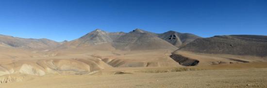 Traversée des plateaux au-dessus de la Dhechyang khola