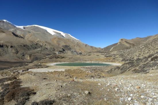 L'un des lacs sacrés du Damodar