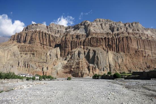 Les falaises de Chhusang