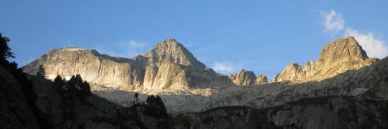 Cap Peytier-Hossard et Balaïtous