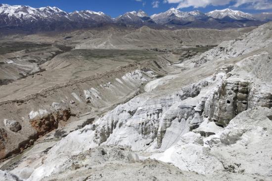 Sur le sentier de la montagne blanche