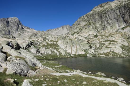 Le premier rencontré des lacs Cambalès