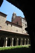 Le cloître de la cathédrale du Puy