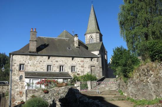 Le village de Laveissière