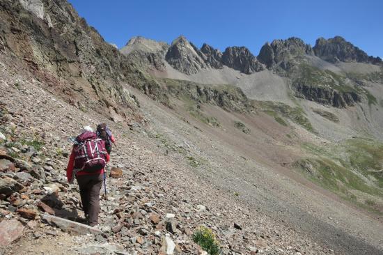 En Espagne entre les cols d'Arratille et des Mulets