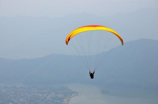 A Pokhara, ça plane pour lui...