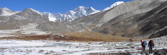 En route pour les Panch pokhari