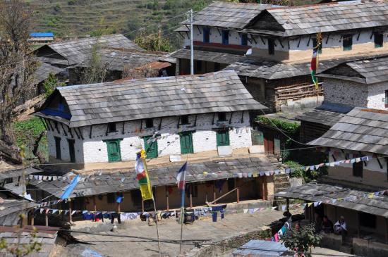 Le vieux village de Ghandruk
