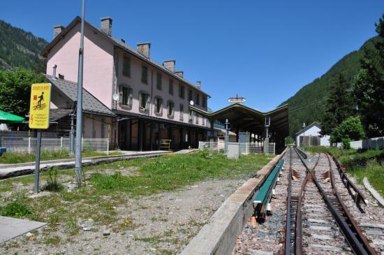 La gare de Vallorcine