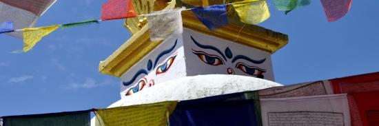 La stupa de Bodnath (Katmandou - Népal)