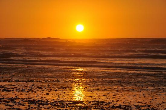 Coucher de soleil à Tamri