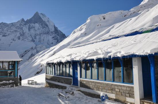 Les lodges de l'Annapurna Base camp