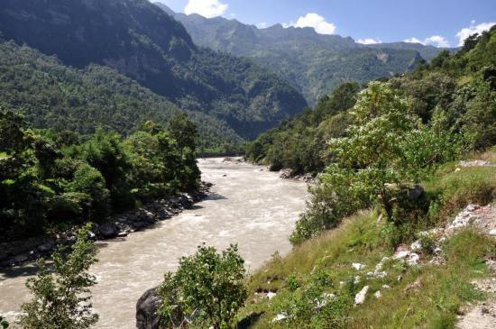 La vallée subtropicale de la Myagdi khola