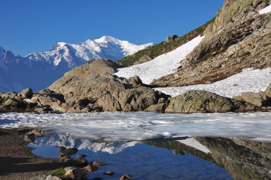 Au Lac Blanc, l'un des plus beaux panoramas de la région ?
