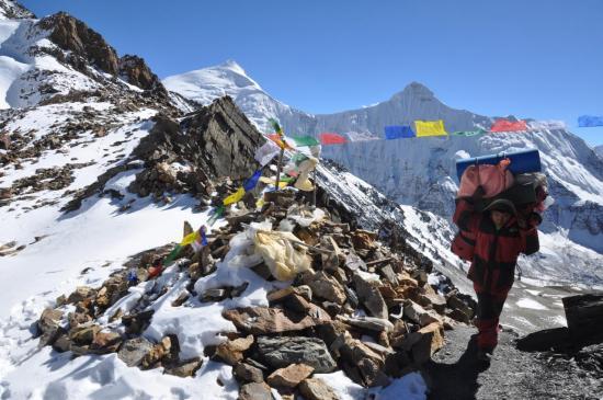 Passage du Mu La (5700m)