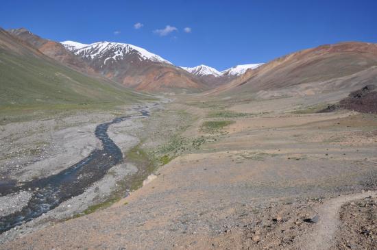 Après les solitudes glacées du Surichun La, voici les alpages de Chumik Marpo