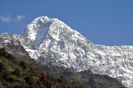 En quittant la haute vallée de la Modi khola (Annapurna Sud)