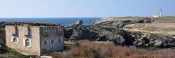 La pointe des Poulains (fort Sarah Bernhardt et phare)