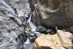 L'accès au site de Pokhar Ogyan Rzong